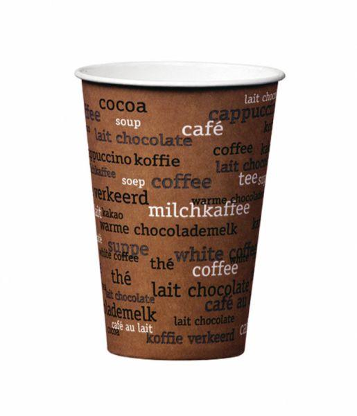 Pappbecher Kaffee Rainbow 180 ml