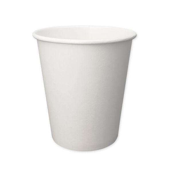 Papierbecher weiß 200 ml für Heißgetränke