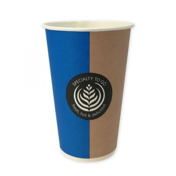 Coffee To Go Automatenbecher 200 ml, Pappbecher
