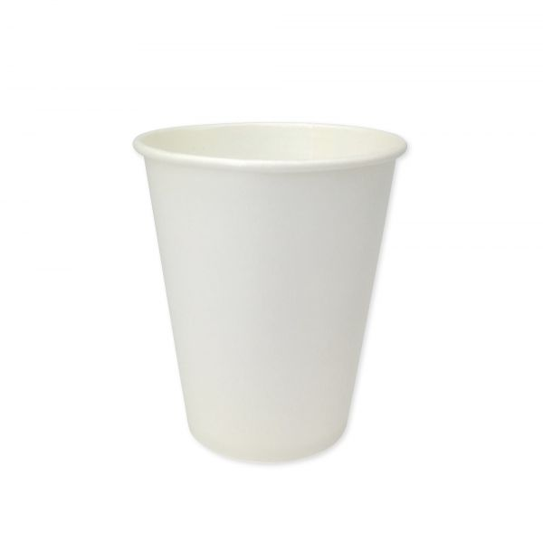 Papierbecher weiß 150 ml für Heißgetränke