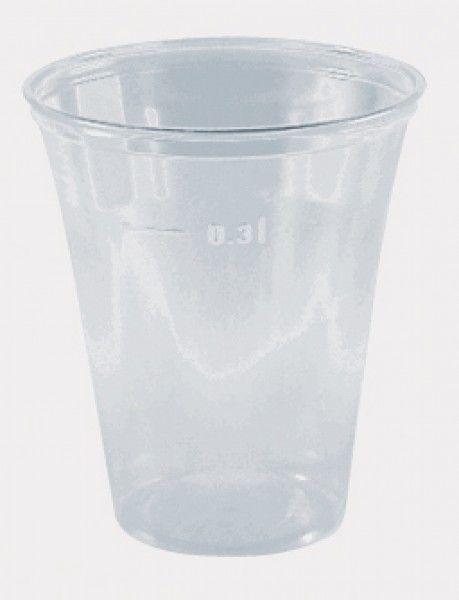 Ausschankbecher, klar, PS, 300 ml