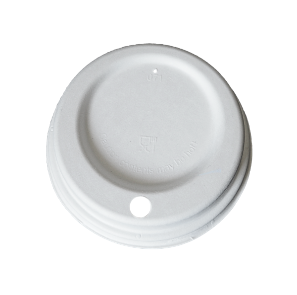 Fiber Deckel mit Trinkloch ø 90 mm
