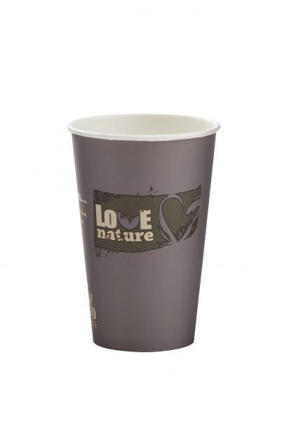Bio Kaffeebecher 200 ml, Automatenbecher, Pappbecher