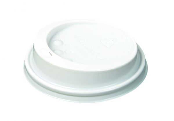 Deckel für Automaten-Kaffeebecher 180 ml mit Trinkloch
