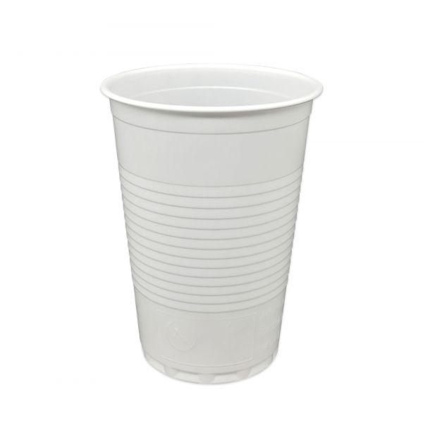 Trinkbecher weiß 180 ml PS