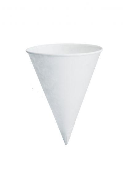 Papier Trinktüte 120 ml, weiß