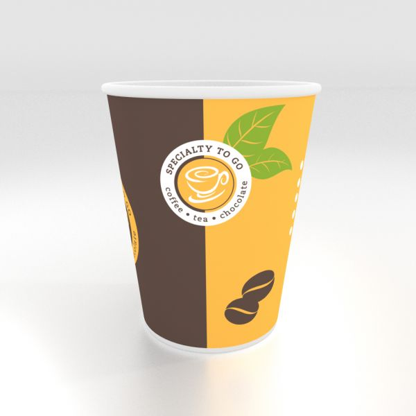 Coffee To Go Becher, Kaffeebecher, 0,4 l