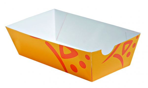Grillschale WHIZZ orange, groß