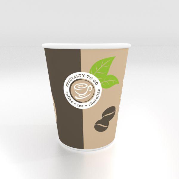 Coffee To Go Becher, Kaffeebecher 200ml