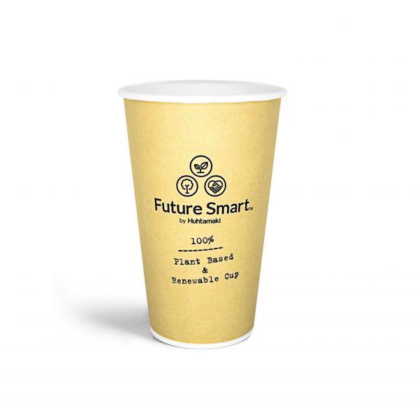 Heißgetränkebecher Future Smart 400 ml, Pappbecher