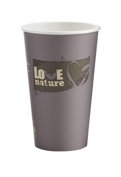Bio Kaffeebecher, Coffee to go Pappbecher 400 ml