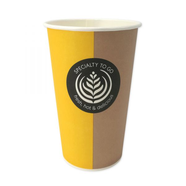 Coffee To Go Automatenbecher 300 ml, Pappbecher