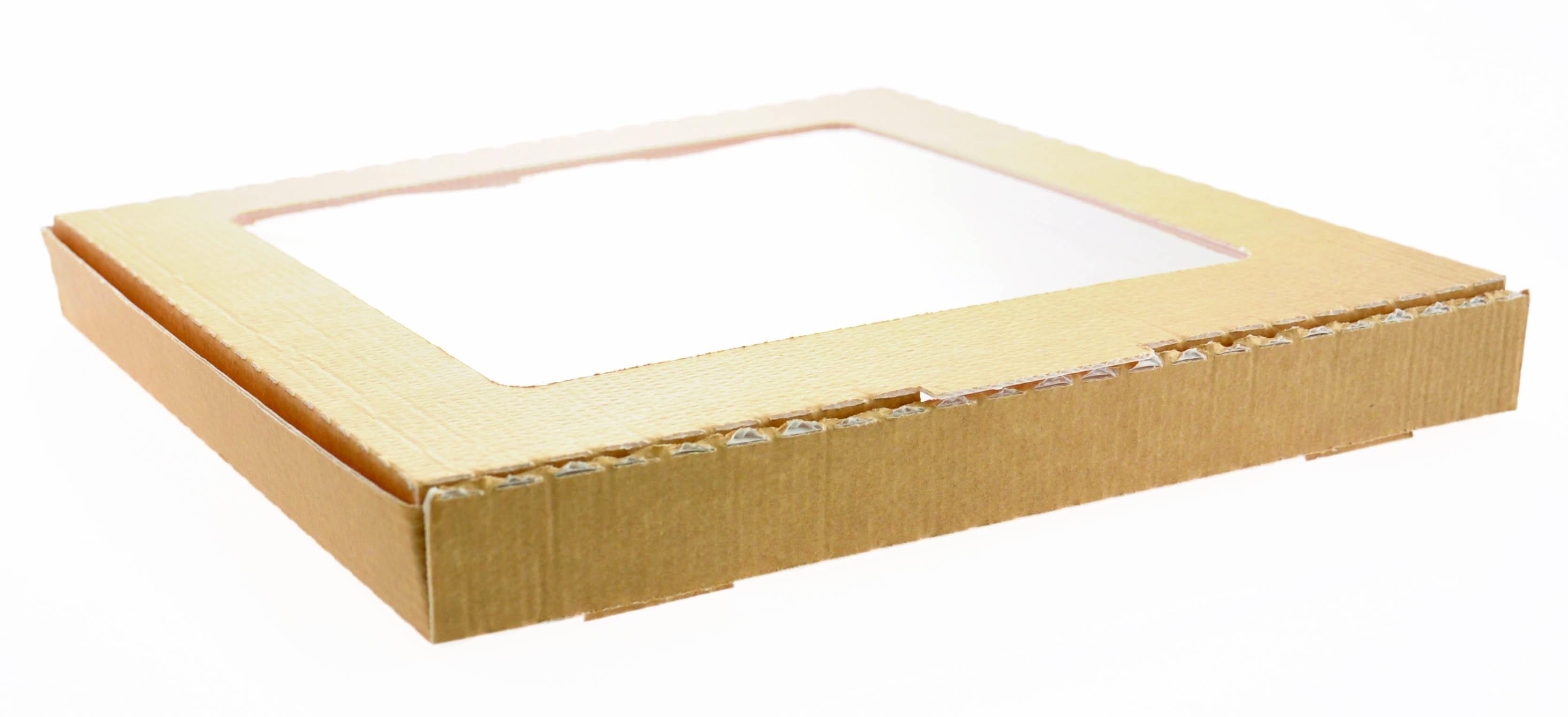 pizza box mit fenster g nstig kaufen. Black Bedroom Furniture Sets. Home Design Ideas