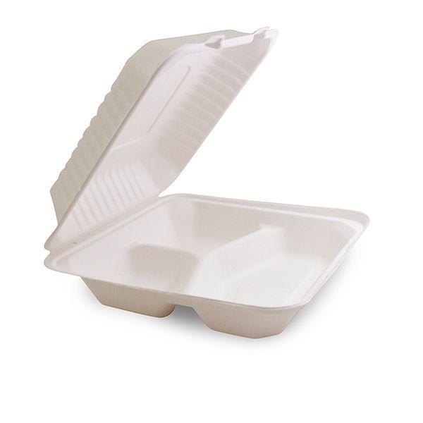 Nachhaltige Menü Box 3-geteilt