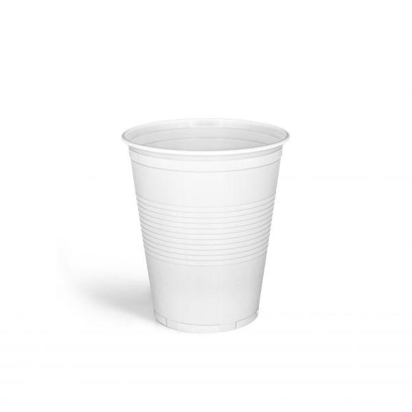 Trinkbecher 150 ml weiß, PS