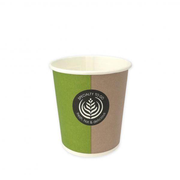 Coffee To Go Becher Hartpapier 100 ml