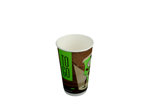 Doppelwand Coffee to go Becher Smooth 400ml