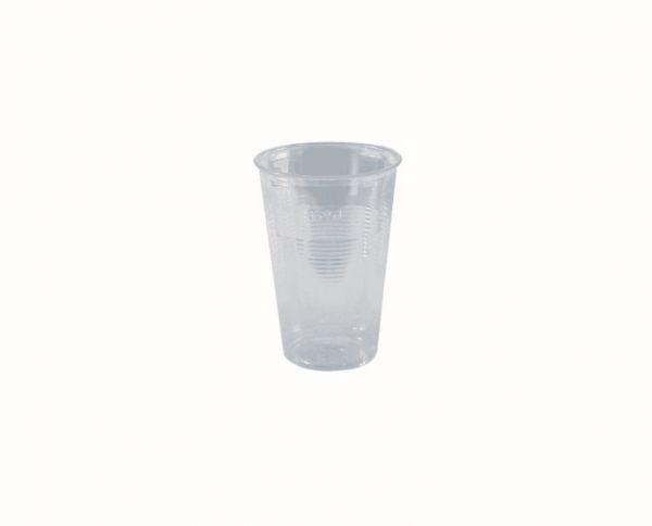 Ausschankbecher, klar, PS, 250 ml