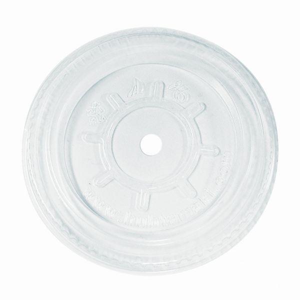 Bio Flachdeckel mit Loch aus PLA ø 78.0 mm