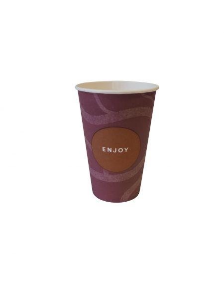 Premium Pappbecher Kaffee 200 ml Enjoy, Automatenbecher