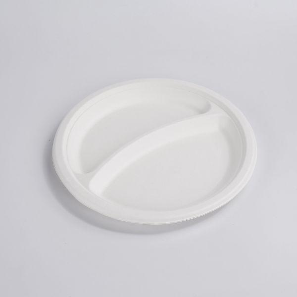 Fiber Teller 2-geteilt 23 cm