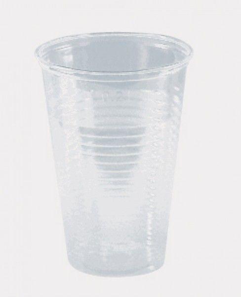 Ausschankbecher, klar, PS, 200 ml