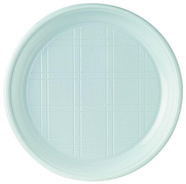 Plastikteller 17cm weiß
