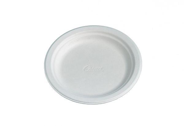 Bio Dessertteller ø 17 cm CHINET weiß, Bio-Geschirr