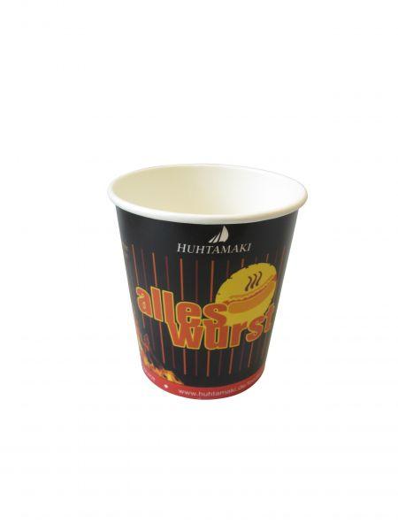 Currywurstbecher aus Papier 400ml - So lange der Vorrat reicht