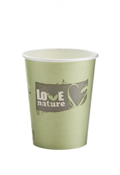 Coffee To Go Becher. Bio Kaffeebecher. 300 ml. Pappbecher