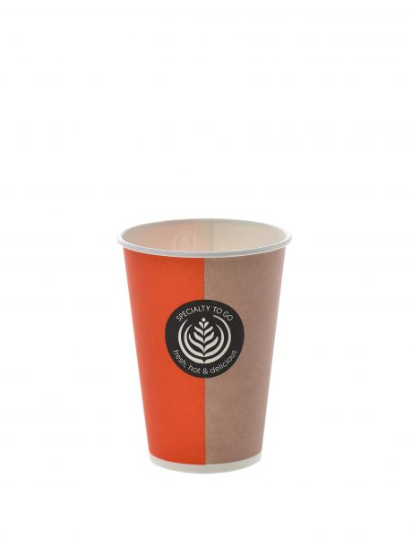 Coffee To Go Papierbecher 180 ml orange