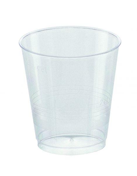 Schnapsbecher glasklar, Schnapsglas 40/50 ml
