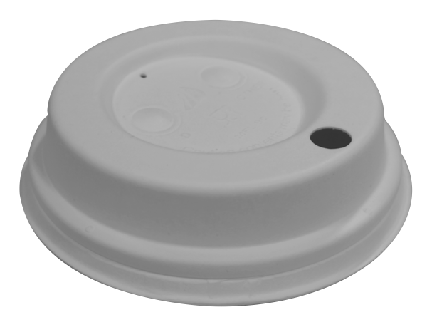 Fiber Deckel mit Trinkloch ø 80 mm