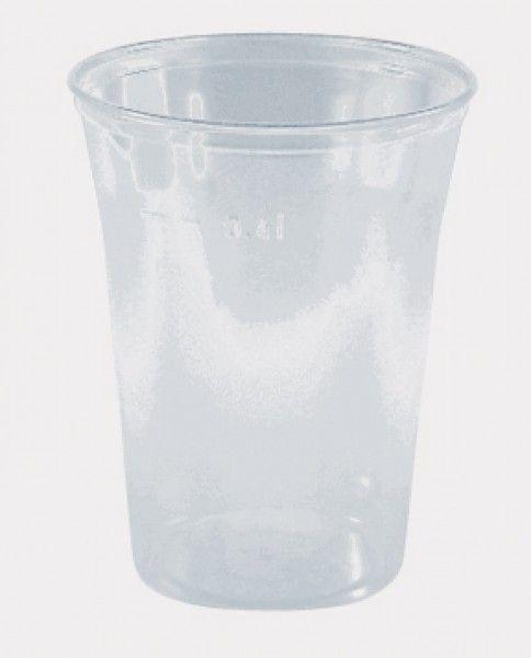 Ausschankbecher, klar, PS, 400 ml
