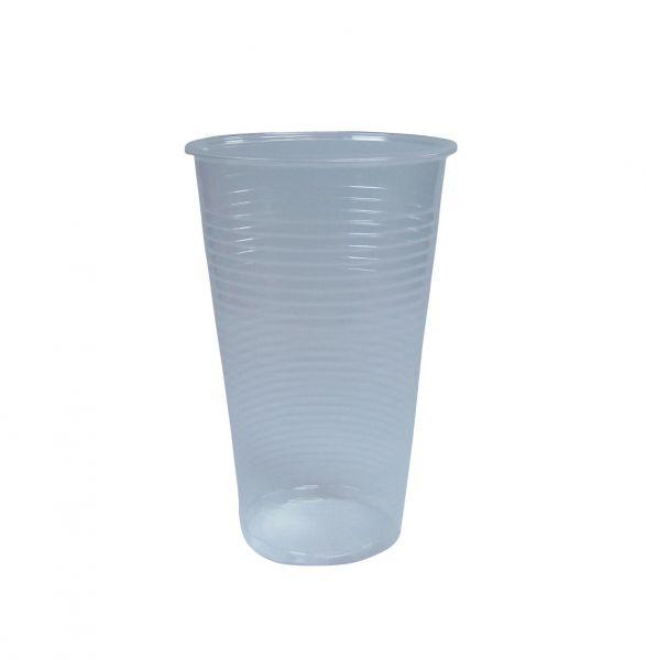 Trinkbecher, transparent, PP, 200 ml