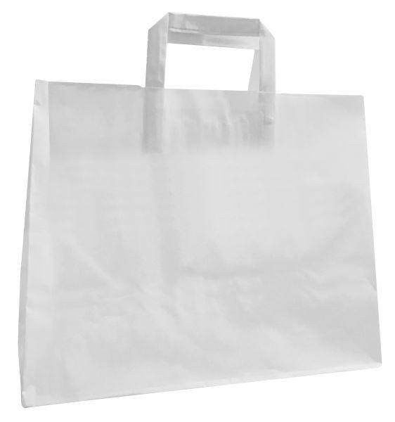 Papiertüte XL weiß, 32 x 22 x 25 cm