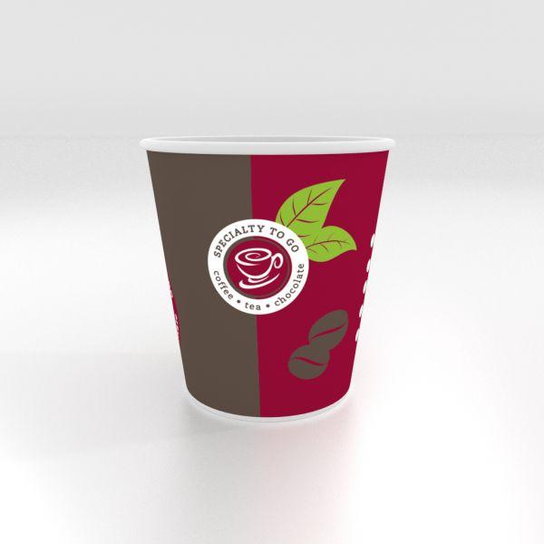 Coffee To Go Becher, Kaffeebecher, 0,18 l
