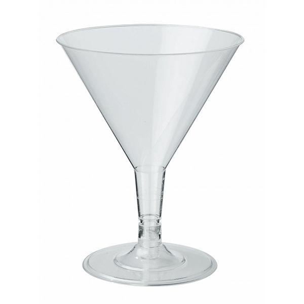Cocktailglas aus PS 160ml, transparent
