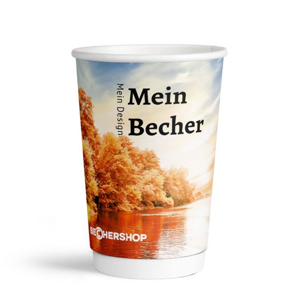 400 ml Double Wall Becher