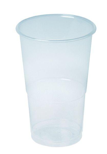 Bierbecher, klar, PP, 300 ml
